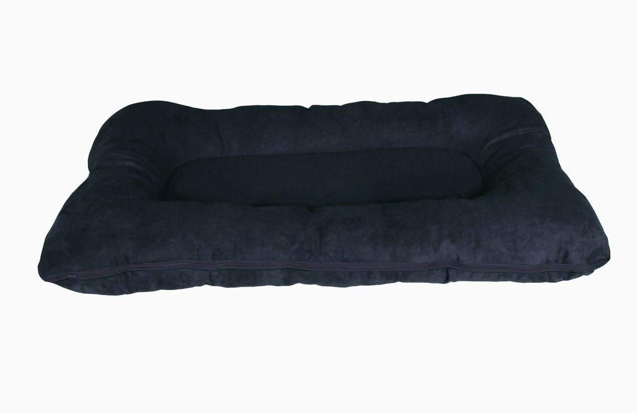 Hundebett / Hundekissen XXL schwarz, 120x80 cm