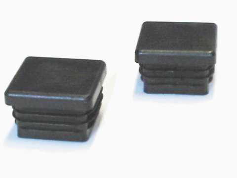 Abdeckkappen PVC-2er Set für Preisstar und Sonderserie Zwingerelemente