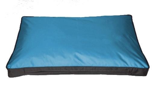 Kissenbezug für Outdoor-Hundekissen 120 x 80 cm (ohne Füllung), blau