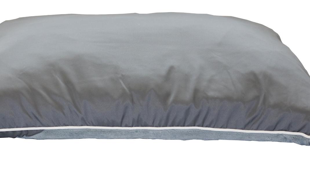 Hundebett / Hundekissen XXL grau, 112x81 cm, Wendekissen