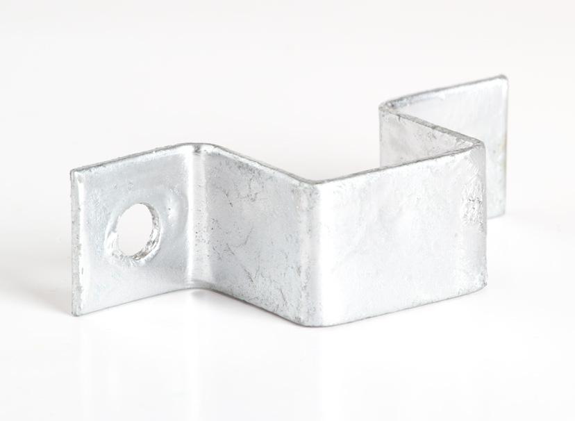 Wandschellen 2er-Set für Zwingerelemente Preisstar, silber