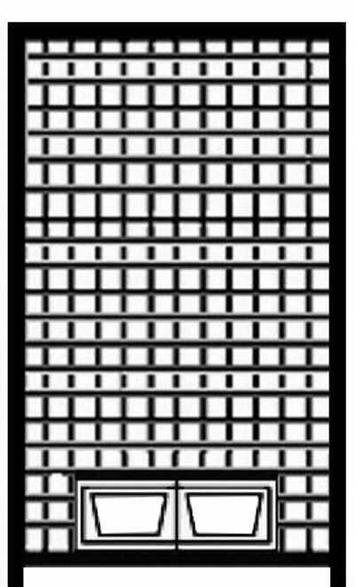 Home Hundezwinger Gitter-Element mit Futterset, 1,8 x 1,0 m